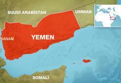 Yemende bombardıman