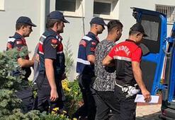 Evden akıllı telefon ve para çalan 3 hırsızdan 2si tutuklandı