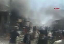 Afrinde bomba yüklü araç saldırısı