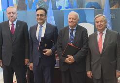 Erdoğan - Guterres görüşmesi