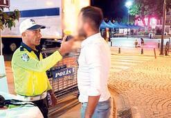 8 ayda 105 bin  alkollü sürücü yakalandı