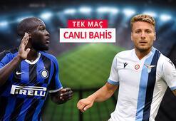 Inter-Lazio maçı canlı bahis heyecanı Misli.comda
