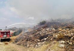 Kumlucada makilik yangını
