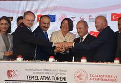 Çerkezköy-Kapıkule Demiryolu Hattının temeli atıldı