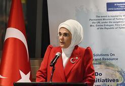 Emine Erdoğan BMde Türkiyenin Sıfır Atık tecrübesini anlattı