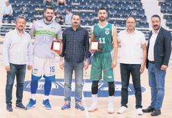 Merkezefendi Belediyesi Denizli Basket kupayı aldı