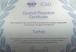 Türk sivil havacılığına uluslararası güvenlik sertifikası