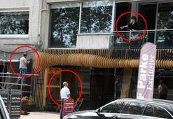 Ünlü oyuncu işçileri balkondan fırçaladı