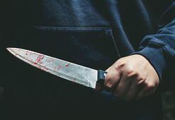 Eşini uykusunda bıçaklayarak öldürdü