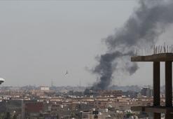Libyanın başkentindeki Mitiga Havalimanına hava saldırısı
