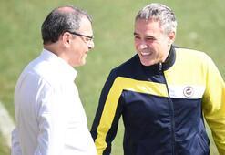 Fenerbahçede derbi öncesi neşeli antrenman