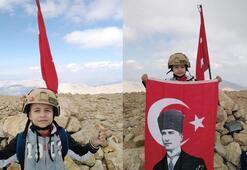 7 yaşında ama 3 bin metre zirveye tırmandı