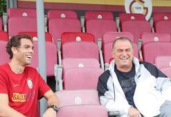 Galatasaray idmanında Elmander sürprizi
