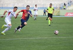 Kırıkkale Büyük Anadoluspor: 0 - Gazişehir Gaziantep: 4