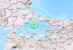 Son dakika... İstanbulda şiddetli deprem Okullar tatil edildi
