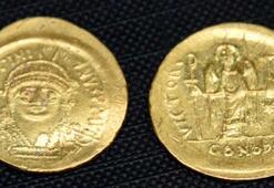 Çanakkalede Bizans hazinesi bulundu