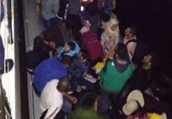 Didim açıklarında 46 kaçak göçmen yakalandı
