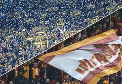 Galatasaray ile Fenerbahçenin tribün rekabeti