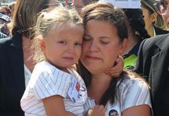Şehit polisin kızından yürekleri dağlayan veda