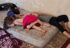 Antalyada şok görüntü Eve girenler dehşete düştü