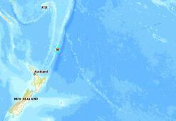 Son dakika... Yeni Zelanda açıklarında deprem