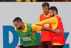 Galatasaray derbi taktiğine çalıştı