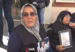Annelerin HDP önündeki evlat nöbeti 26ncı gününde