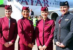 Katarın kabin görevlisi alım başvuruları başladı, maaş ortalaması da belli oldu