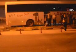 Psikolojik sorunu olan yolcunun krizi tuttu, otobüs rota değiştirdi
