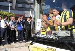 Fenerbahçe taraftarını Türk Telekom Stadına Ali Koç uğurladı