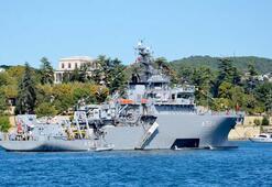 Savaş gemilerine ziyaretçi akını