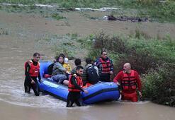 Artvinde son durum Metrekareye 150 kilogram yağış düştü