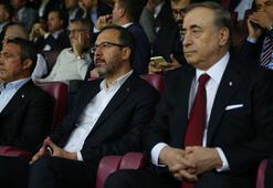 Bakan Kasapoğlu: Her iki takımı da tebrik ediyorum