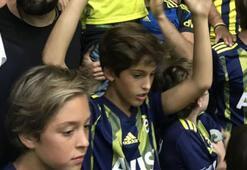 Ali Koçun oğlu, derbiyi tribünde izledi