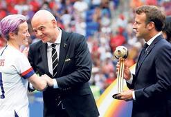 Kadının fendi, FIFA'yı yendi