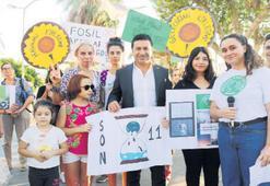 Genç çevrecilere Aras'tan destek