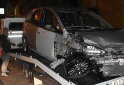 İzmirde kaza: 5 yaralı