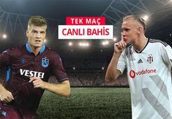 Trabzonspor-Beşiktaş maçının canlı bahis heyecanı Misli.comda
