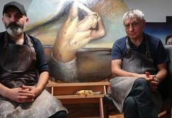 Ressamlar ile belediyenin nü resim krizi