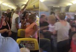 Uçakta kaos Mahsur kaldılar...