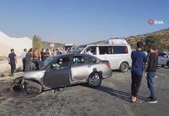 Nişan yolunda feci kaza