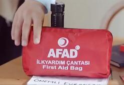 AFADdan videolu deprem uyarısı