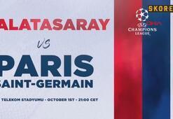 PSGden Galatasaray maçı öncesi video paylaşımı