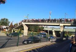 Bu sabah İstanbul... Adım atacak yer bulamadılar