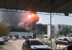 Çinde fabrikada yangın: 19 ölü