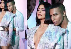 Kylie x Balmain 2020 İlkbahar/Yaz sezonunun makyaj trendlerini belirledi