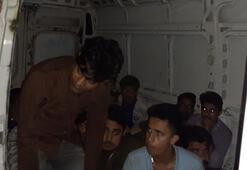 Milasta 25 düzensiz göçmen yakalandı
