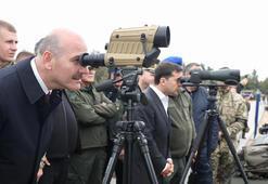 Bakan Soylu Ukraynada tatbikata katıldı