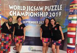 Dünya Puzzle Hız Yarışması Türkiye ilk kez katıldı...