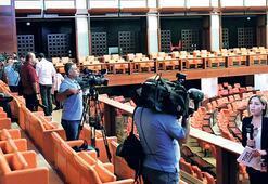 Meclis, TV'ler için basın locasını açtı